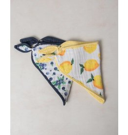 Little Unicorn Bandana Bib - Berry Lemon
