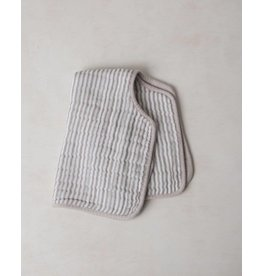 Burp Cloth - Grey Stripe