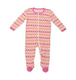 Silkberry Baby Bamboo Footie Triangle