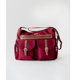 Rambler Satchel Pomegranate