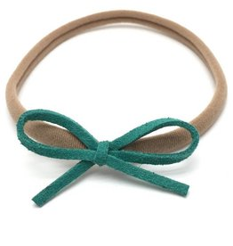 Loved by Sophia Claire Dainty Bow - Jade