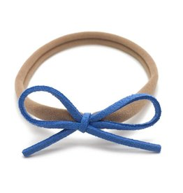 Loved by Sophia Claire Dainty Bow - Luxe Blue
