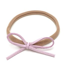 Loved by Sophia Claire Dainty Bow - Lavender