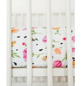 Little Unicorn Cotton Muslin Crib Sheet - Berry & Bloom