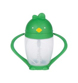 Lollaland Lollacup Straw Sippy Cup - Good Green