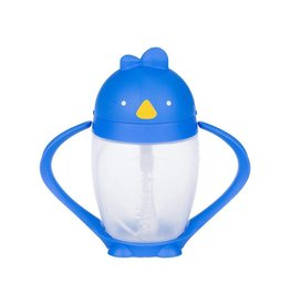 Lollaland Lollacup Straw Sippy Cup - Brave Blue