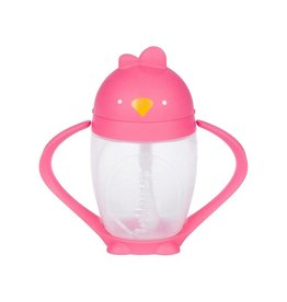 Lollacup Straw Sippy Cup - Posh Pink