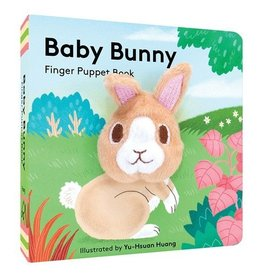Chronicle Books Baby Bunny: Finger Puppet Book