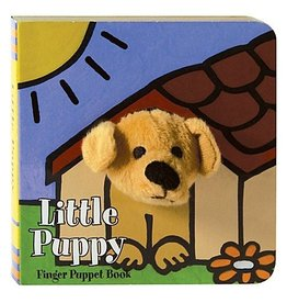 Chronicle Books Little Puppy: Finger Puppet Book
