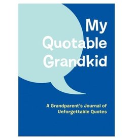 Chronicle Books My Quotable Grandkid
