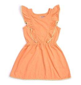 Kapital K Orange Cream Jersey Dress