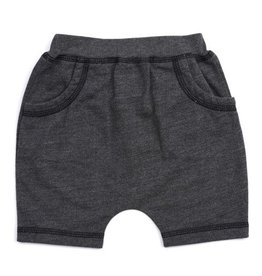 Kapital K Dark Grey French Terry Short