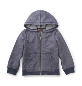 Tea Collection Seaside Denim Zip Hoodie