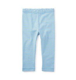 Tea Collection Blue Striped Capri Leggings