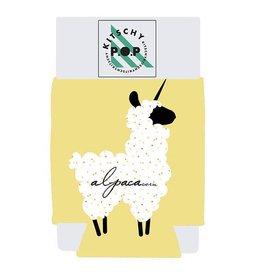 Kitschy POP Alpaca Koozie