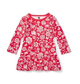 Tea Collection Holly Ruffle Baby Dress
