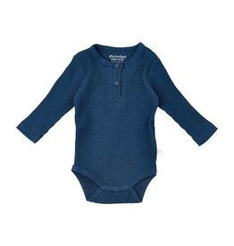 MinyMo Navy Blue Bodysuit