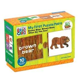 Mudpuppy Puzzle Pairs Brown Bear