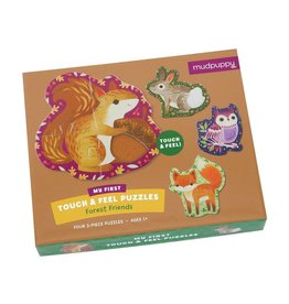 Mudpuppy Forest Friends Touch & Feel Puzzle