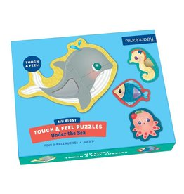 Mudpuppy Under the Sea Touch & Feel Puzzle