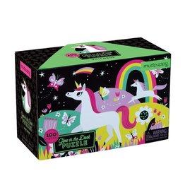 Mudpuppy Unicorn Glow-in-the-dark Puzzle