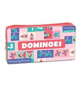 Mudpuppy Enchanting Princess Dominoes