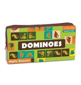 Mudpuppy Mighty Dino Dominoes
