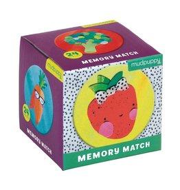 Mudpuppy Fruits & Veggies Memory Match