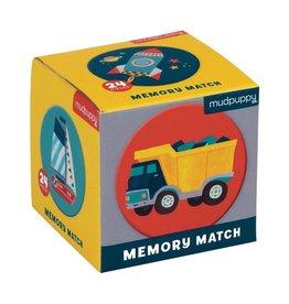 Mudpuppy Transportation Memory Match