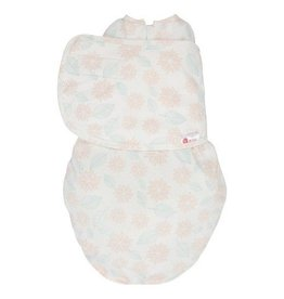 embe embe Swaddle - Pink & Mint Dahlias