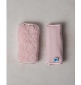 Reversible Car Seat Strap Covers - Pink