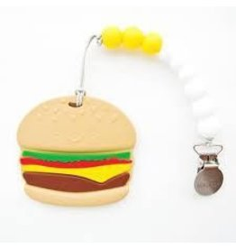 Loulou Lollipop Burger Silicone Teether