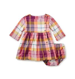 Plaid Flannel Baby Dress