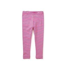 Tea Collection Striped Baby Leggings - Shocking Fuschia