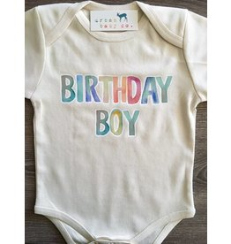 Urban Baby Co Birthday Boy Onesie