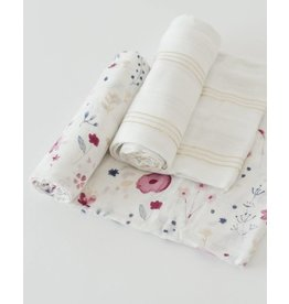 Deluxe Swaddle Set - Fairy Garden