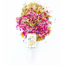 Gender Reveal Push Pop Confetti - Girl