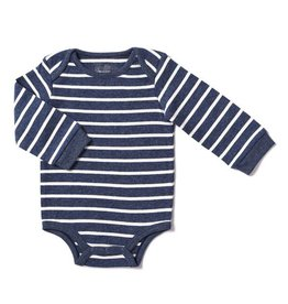 Kapital K Blue Shadow Stripe Bodysuit