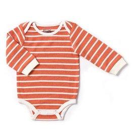 Pumpkin Stripe Bodysuit