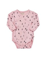 MinyMo House in the woods Onesie Pink