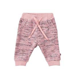Pink and Black Stripe Legging