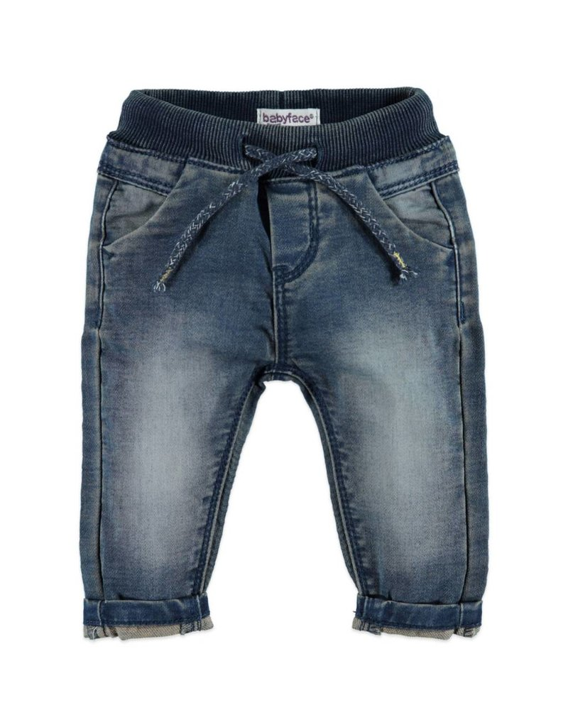 Baby Boys Jogger Denim - Dark Denim