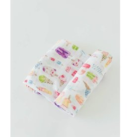 Little Unicorn Cotton Swaddle - Brain Freeze