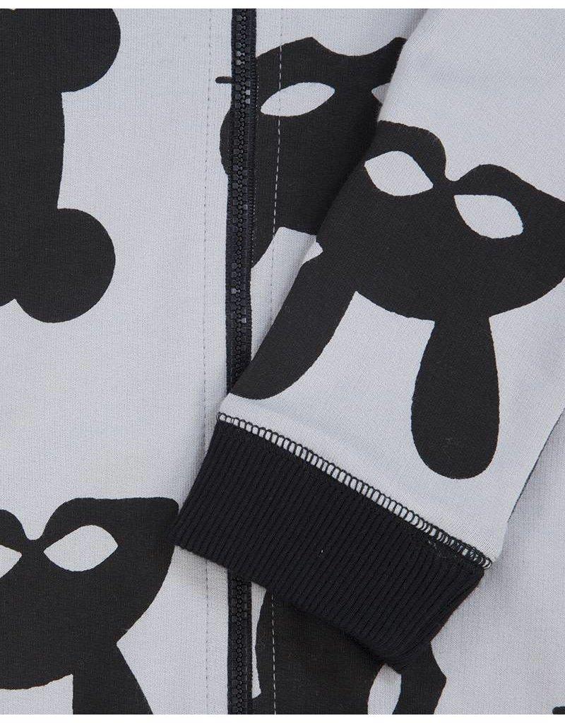 Turtledove London Mask Print Outersuit