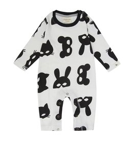 Animal Mask Playsuit