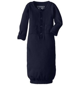 L'oved Baby Organic Gown Sleeper, Navy