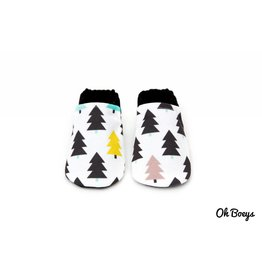 Oh Boeys Evergreen Tree Booties