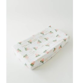 Little Unicorn Brushed Changing Pad Cover - Watercolor Rose