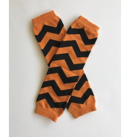 Halloween Chevron Leg Warmers