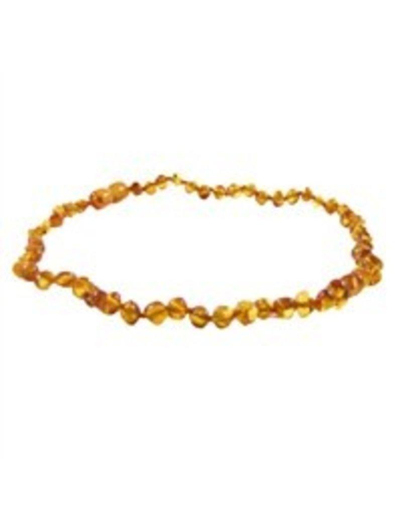 """Teething Necklace - Honey 13"""""""